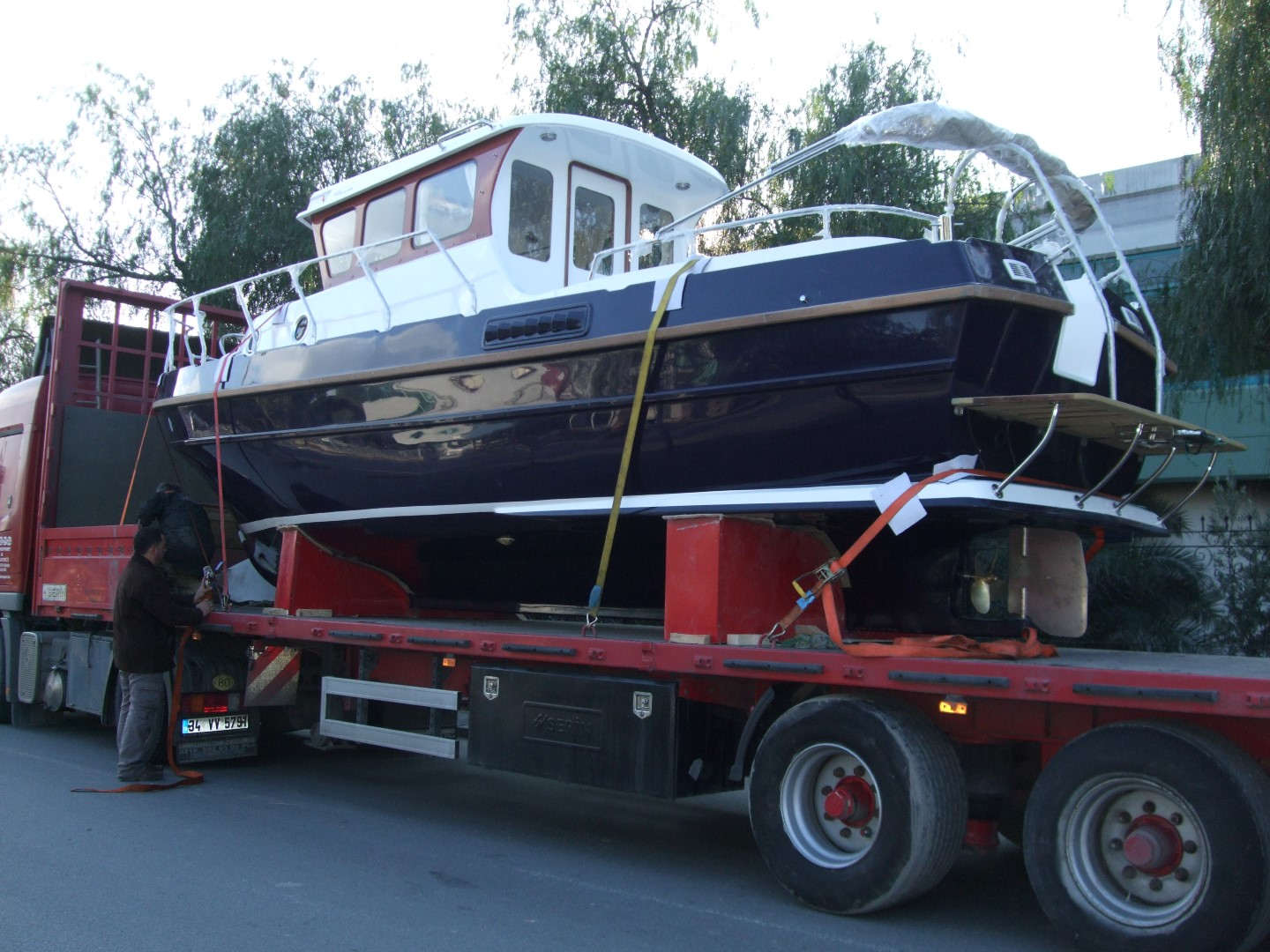 Tacar Mini Trawler on the way